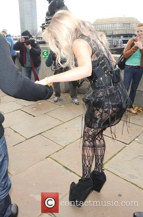 Lady Gaga gives an interview to CNN's Anderson...