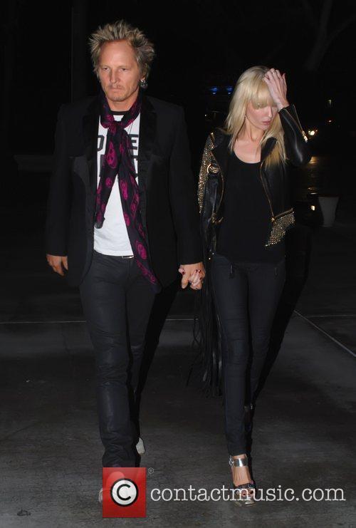Matt Sorum Celebrity arrivals for the Lady Gaga...