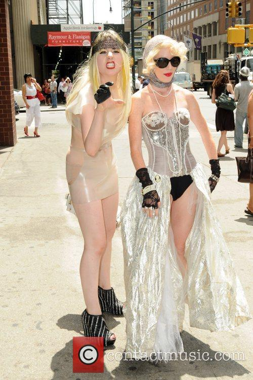 Adrian Felker and Renee Cole The Lady Gaga...