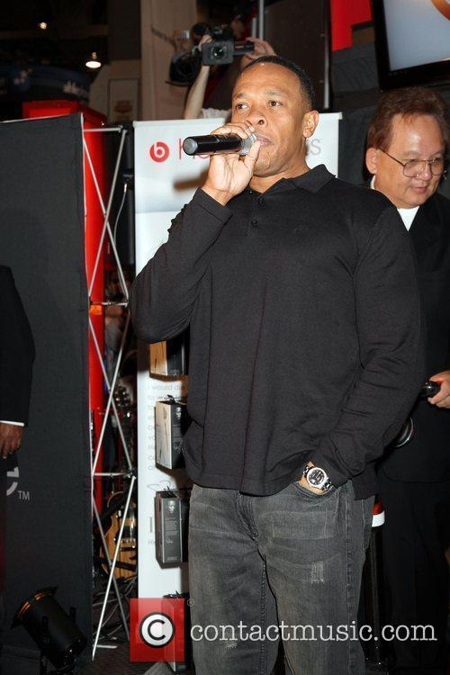 Dr. Dre introduces Monster Cable's headphones 'Heartbeats by...