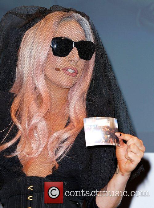 Lady Gaga and Polaroid Introduce new products at...