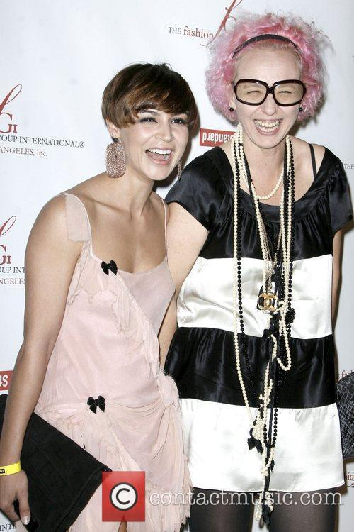 Samaire Armstrong and Designer Nony Tochterman 5