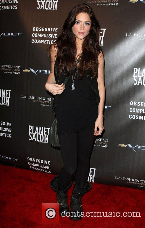 Janet Montgomery Los Angeles Fashion Week Spring/Summer 2011-...