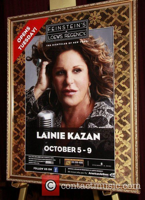 Atmosphere Opening night reception for ' Lainie Kazan...