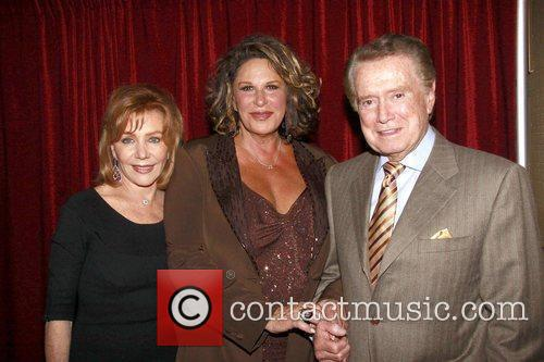Joy Philbin, Lainie Kazan and Regis Philbin...