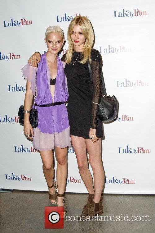 Hanna Holman and Lauren Brown Lakay Pam Awareness...