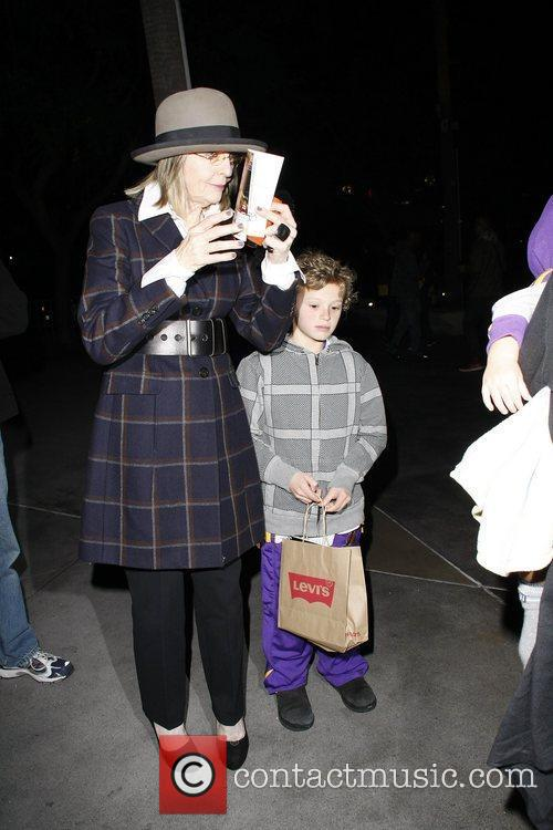 Celebrities arriving at the Staples Center for the...
