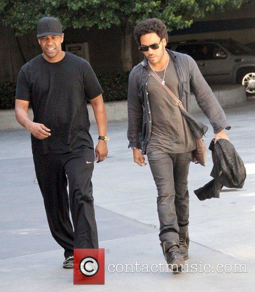 Denzel Washington and Lenny Kravitz 3