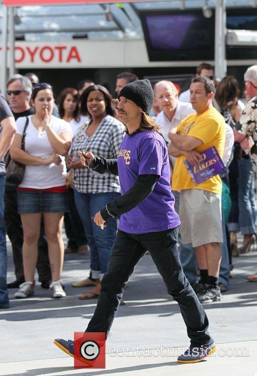 Anthony Keidis Celebrity arrivals at the Staples Center...