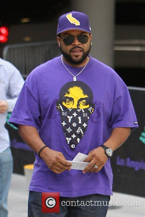 Ice Cube Celebrities are seen attending the LA...