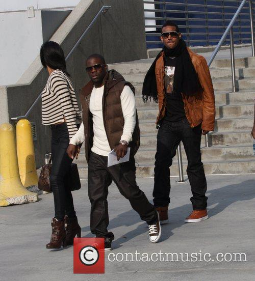 Kevin Hart and Marlon Wayans Celebrities arrive for...