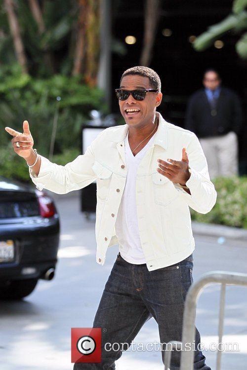 Maxwell Celebrity arrivals at the Staples Center for...