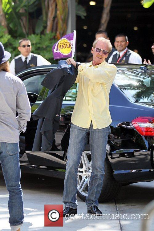 Pat O'Brien Celebrity arrivals at the Staples Center...