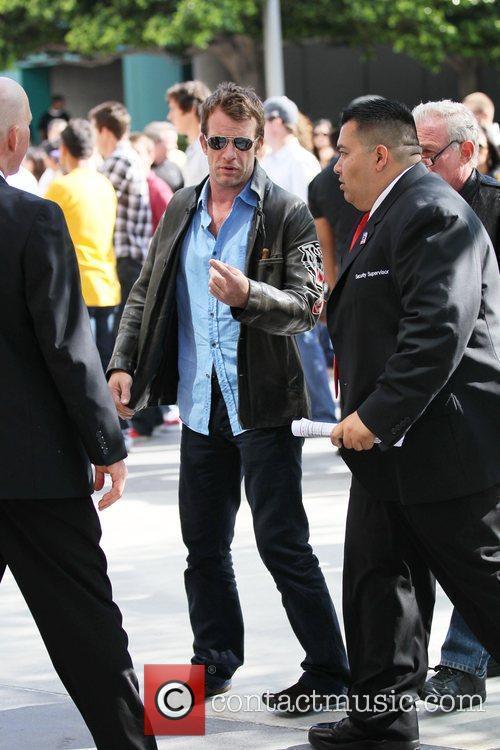 Thomas Jane Celebrity arrivals at the Staples Center...