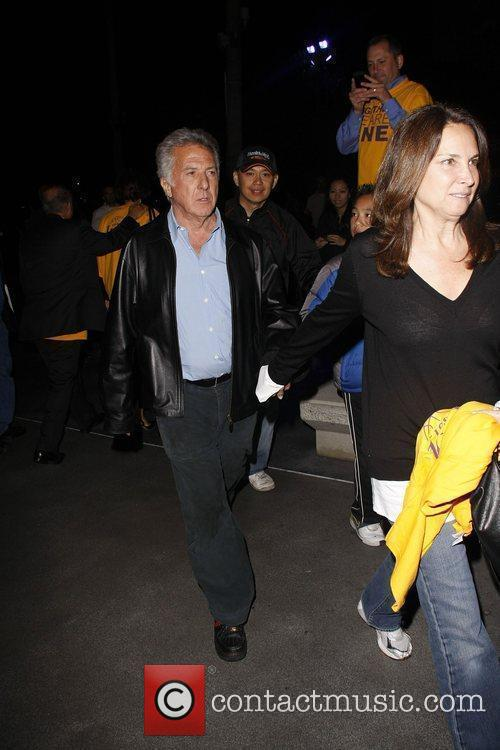 Dustin Hoffman and Lisa Gottsegen 4