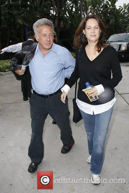 Dustin Hoffman and Lisa Gottsegen 2