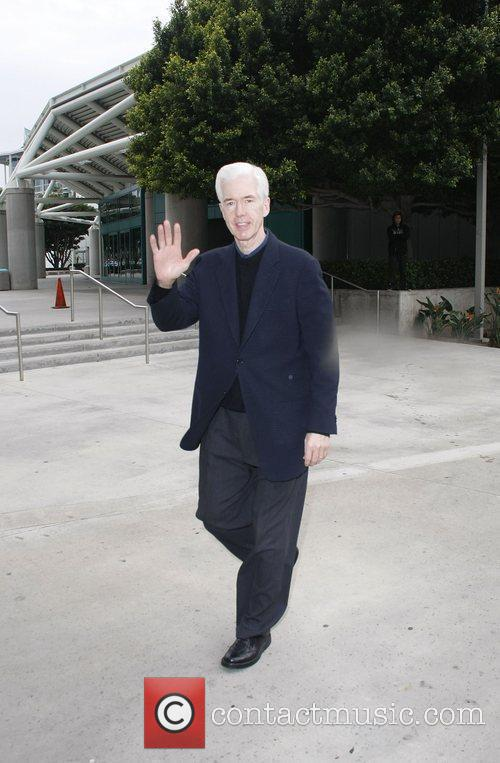 Gray Davis Celebrities arriving at The Staples Center...