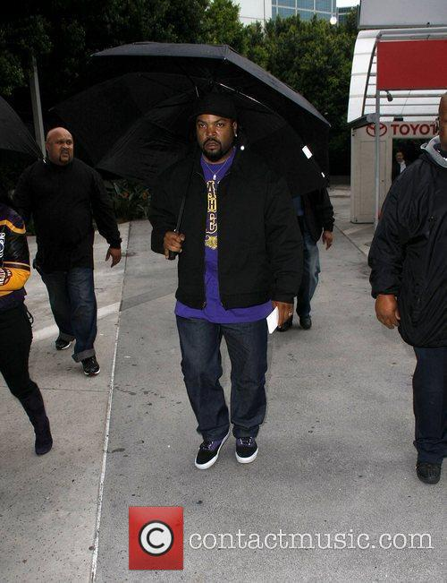 Ice Cube Celebrities arriving at The Staples Center...
