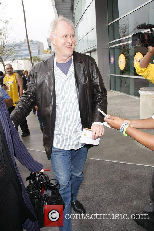 John Lithgow Celebrities arriving at The Staples Center...