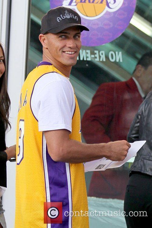 Kelly Slater Celebrities arriving at the Staples Center...