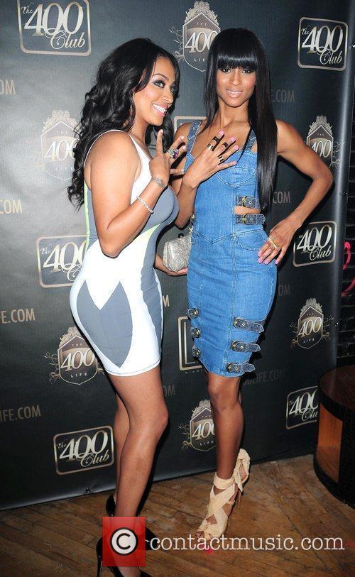 Attend bachelorette party for LaLa Vasquez at Lux...