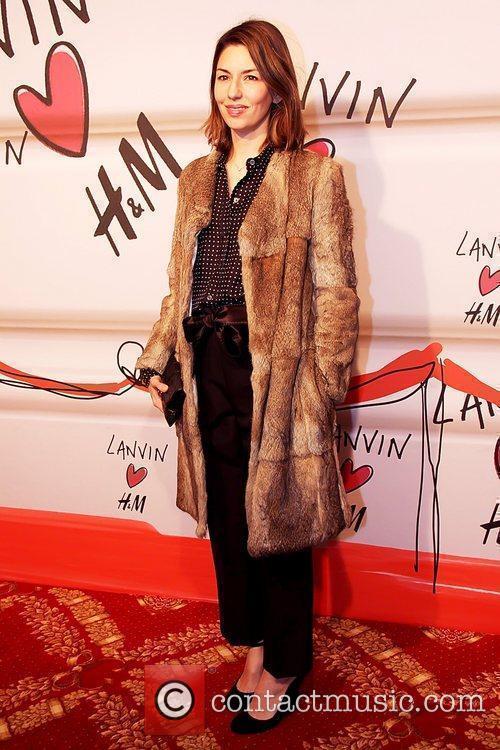 Sofia Coppola Lanvin and H&M fashion show event,...