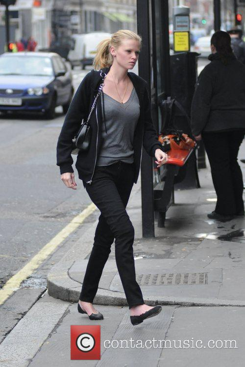 Arriving at a private clinic in central London