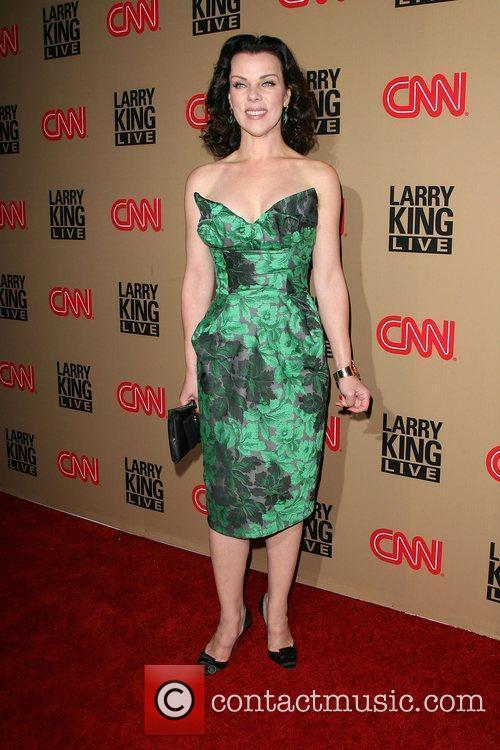 Debi Mazar and Larry King 2
