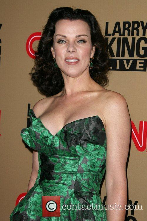 Debi Mazar and Larry King 3