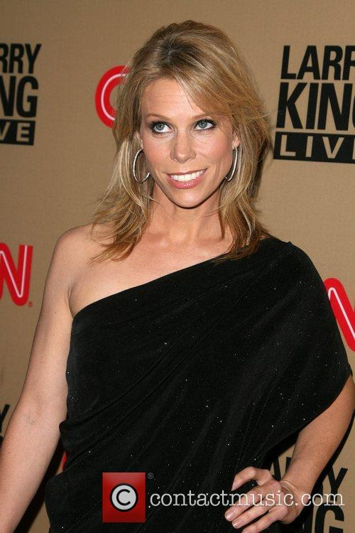Cheryl Hines and Larry King 8