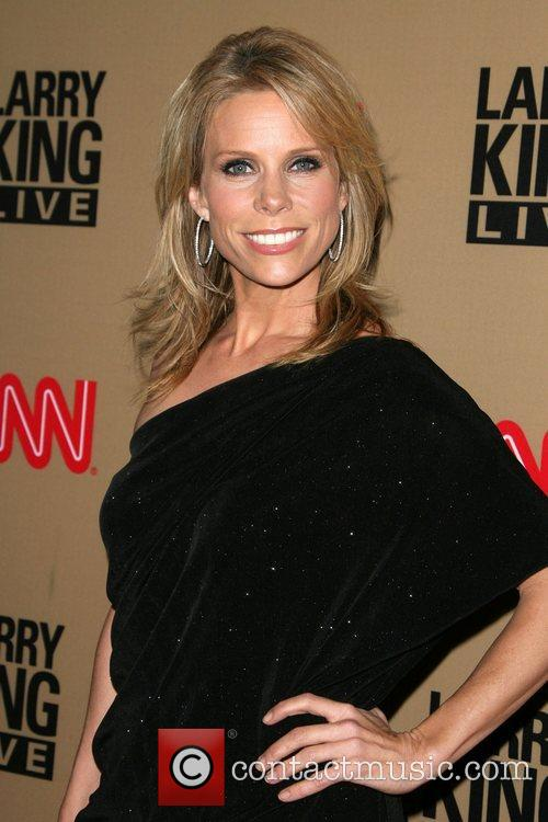 Cheryl Hines and Larry King 4