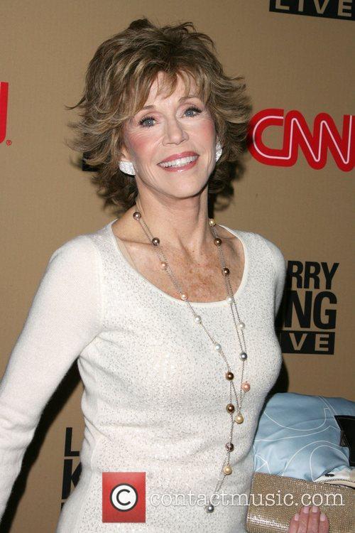 Jane Fonda and Larry King 6