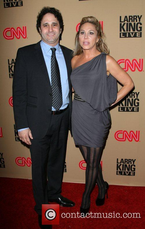 Larry King and Rachael Harris 8