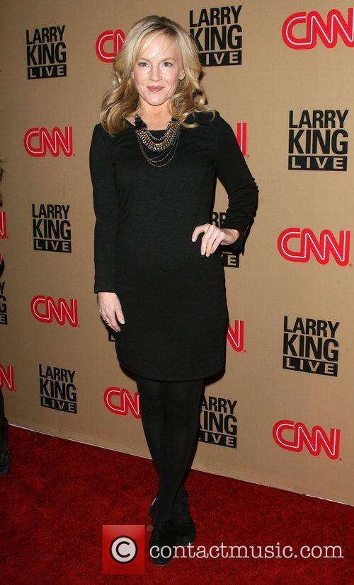 Rachael Harris and Larry King 6