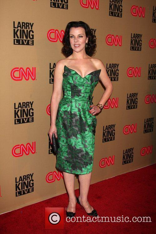 Debi Mazar and Larry King 8