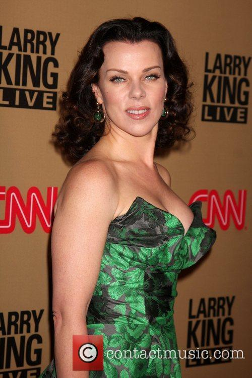 Debi Mazar and Larry King 1