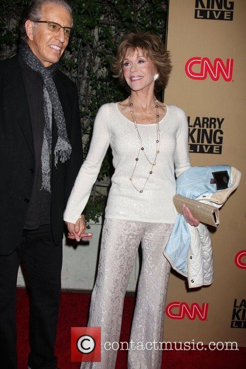 Jane Fonda and Larry King 7