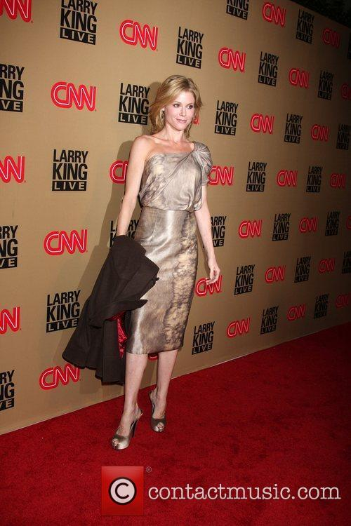 Julie Bowen and Larry King 5
