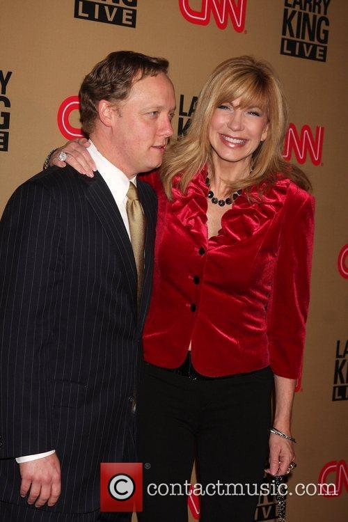 Leeza Gibbons and Larry King 8