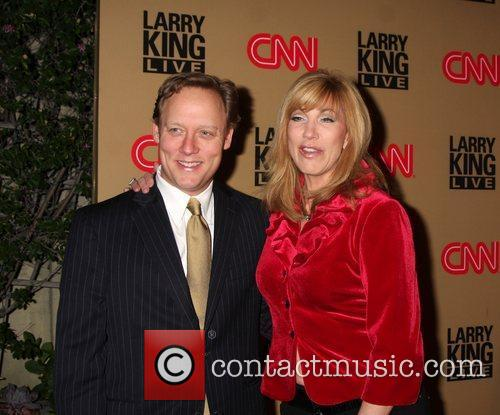 Leeza Gibbons and Larry King 9