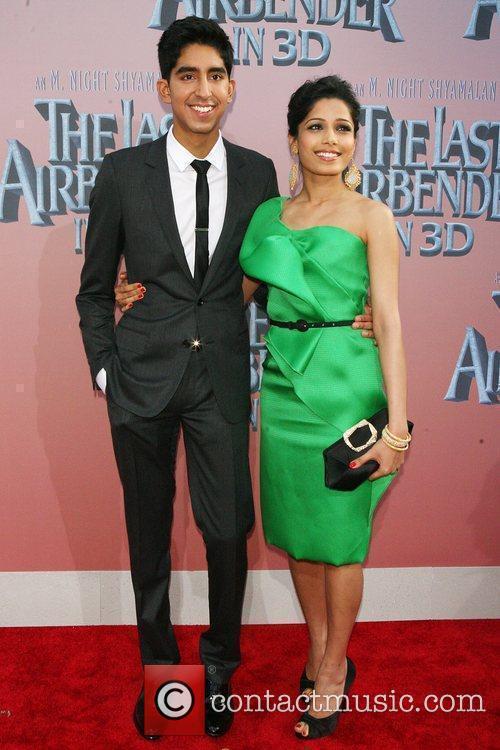 Dev Patel and Freida Pinto 3