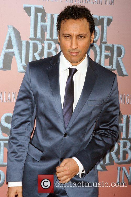 Aasif Mandvi Premiere of 'The Last Airbender' at...