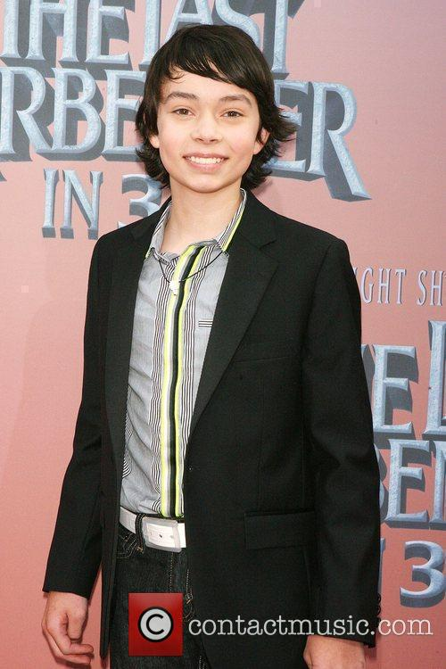 Noah Ringer Premiere of 'The Last Airbender' at...