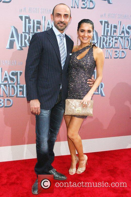 Shaun Toub and wife Premiere of 'The Last...