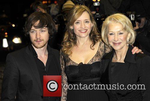 James McAvoy, Anne Marie Duff and Helen Mirren...