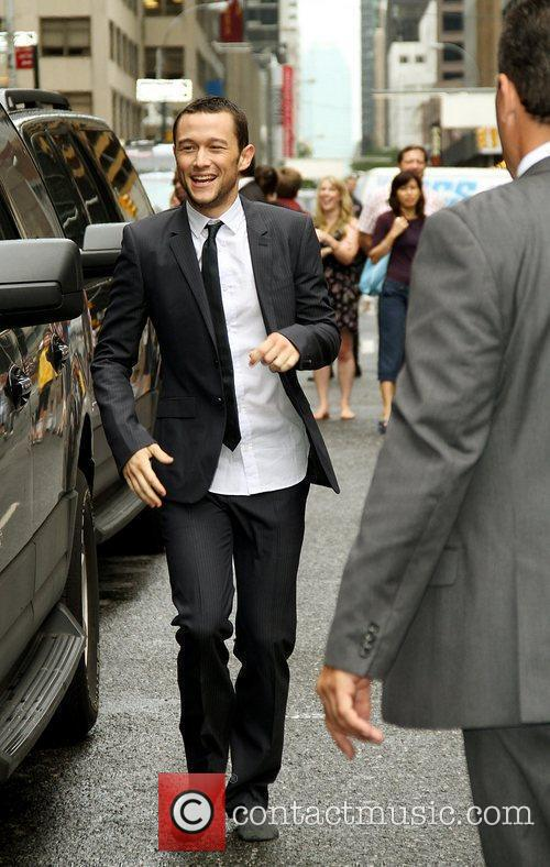 Joseph Gordon-levitt and David Letterman 2