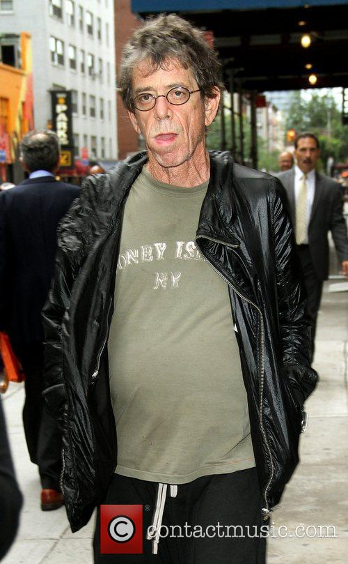 Lou Reed and David Letterman 4