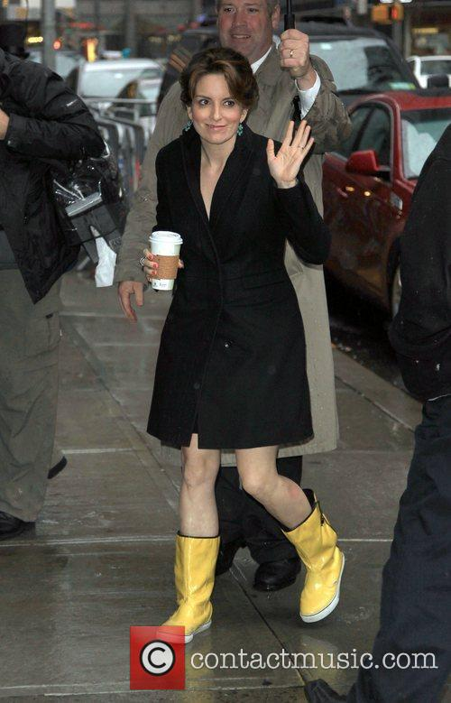 Tina Fey and David Letterman 2