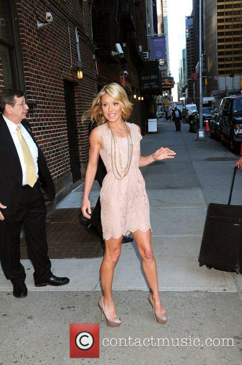 Kelly Ripa and David Letterman 16