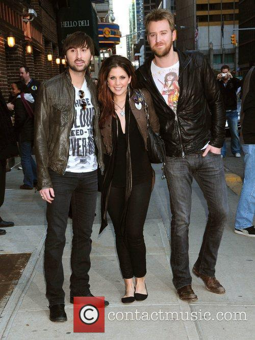 Lady Antebellum and David Letterman 2